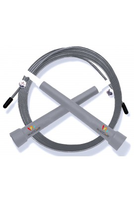 Pro Cable Jump Rope - Gray