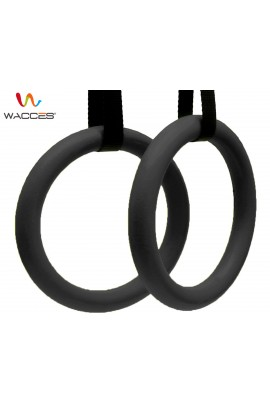 Gymnastics Exercise Rings - Black
