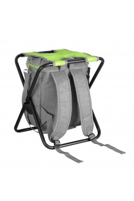 Stool with Cooler Bag - Green