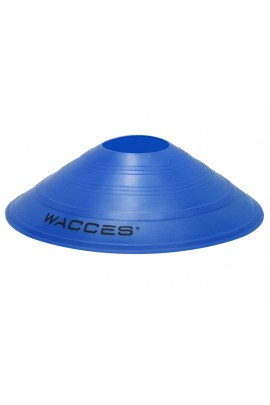 Agility Disc Cones with Transportaion Caddy - Blue