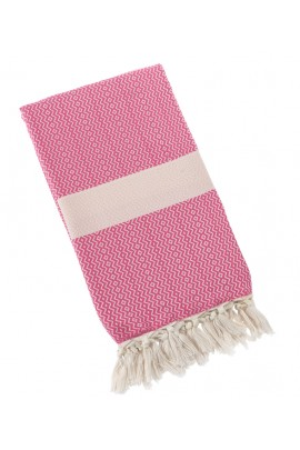 Eshma Mardini Turkish Towel Peshtemal for Beach Spa Bath Pool Sauna Yoga Pilates Fitness - Rose